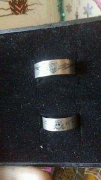 Nightmare Before Christmas Jack and Sally rings 2050 mi