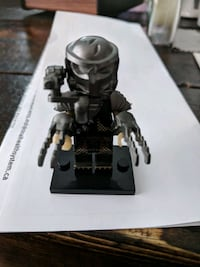 "Predator Lego Figurine - 2"" High -"