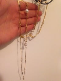 Triple Chain Necklace  Edmonton, T5W 2L5