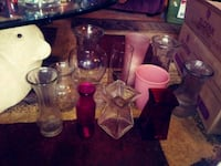 Lot of 12 vases