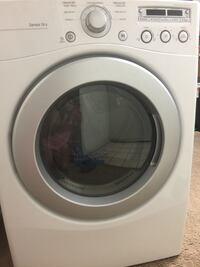 White front-load clothes washer Torrance, 90502
