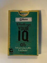 Mensa Challenge Your IQ 50 Card Pack By Ginger Fox  Toronto, M9B 0A1