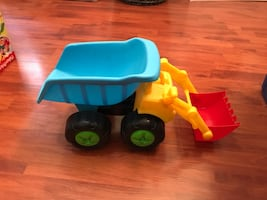 Beach or house toy truck