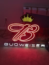 Neon Budweiser sign Tarrytown, 10591