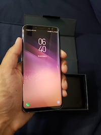 Samsung galaxy s8 orchard grey factory unlocked 64gb  Toronto, M1C 1B3