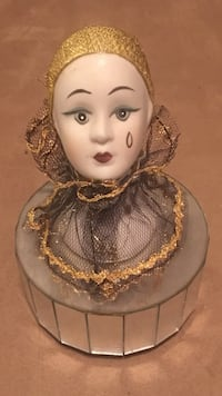 Vintage Ceramic Doll Face With Spinning Musical Head Las Vegas, 89117