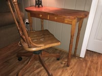 brown wooden table with mirror Lexington, 29073