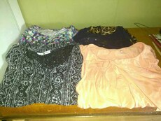 4 tops size xl