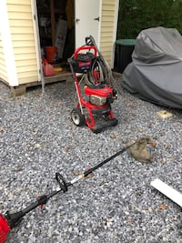 Power washer and weed wacker for sale needs work Port Jefferson Station, 11776