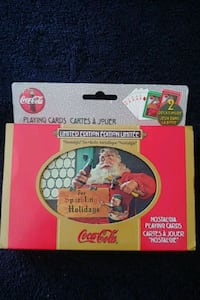 1998 Coca Cola Santa Playing Cards Mississauga, L4Z 1W3