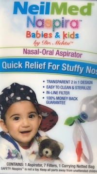 Nasal/oral aspirator for babies and kid  Annandale, 22003