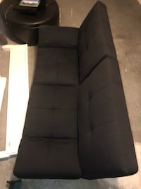 black fabric 3-seat sofa North Charleston, 29418