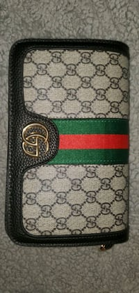 brown and green Gucci wallet Toronto, M1G 1R3