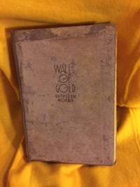 Vintage Book - Walls of Gold by Kathleen Norris 1933 Hardcover Castle Hayne