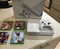 white Xbox One console with controller and game cases Silver Spring, 20910