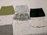 Variety of skirt size small and extra small Calgary, T2E 0B4