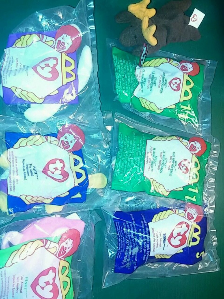 Photo Mcdonalds ty happy meal toys sealed original packa