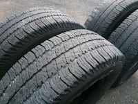 4 matching Goodyear Wranglers 255 75 17 Fallston, 21047