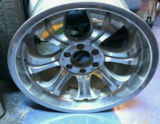 4 20 in silver rims four sixty 8189