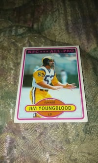 Jim youngblood card Beaver Dam, 53916