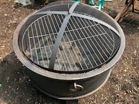 Nice shape fire pit for home ,camping ,etc  Nanaimo, V9T 2N6