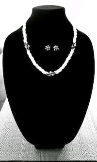 Matching Necklace and Earring set Austin, 78728