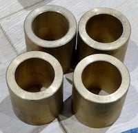four brass metal parts Mississauga