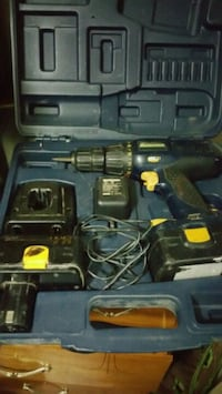 black and yellow cordless power drill Toronto, M9W