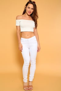 Women White Jeans Pants! Brampton
