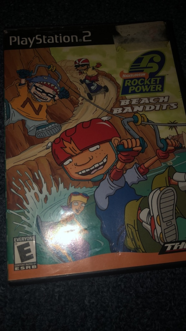 rocket power ps2 game