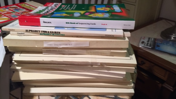 assorted-title book lot