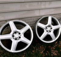 TWO AMG MERCEDES 20INCH RIMS  Clinton