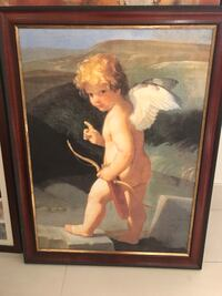 Beautiful angel painting value $450