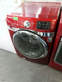 red and black front-load washing machine Los Angeles, 90047