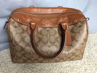 AUTHENTIC Coach Monogrammed Purse Indian Head, 20640