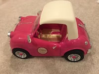 Car for American dolls with real fm radio Aldie, 20105