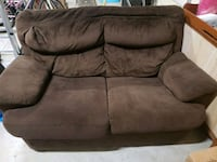 Brown loveseat  Howell, 48843