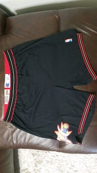 Nba Authentic game worn basketball shorts