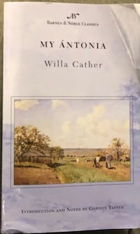 My Antonia by Willa Cather Manassas, 20109