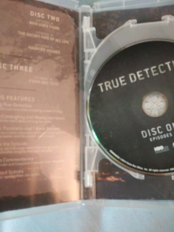 True Detective season 1 dvd 3