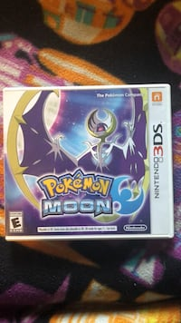 Nintendo 3ds pokemon moon game case North Andover, 01845