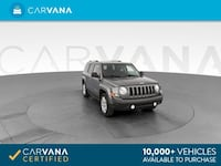 2013 Jeep Patriot suv Latitude Sport Utility 4D GRAY Brentwood