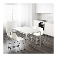 White torsby ikea table