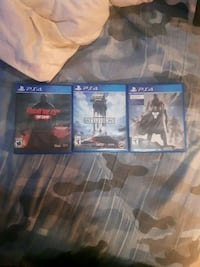3 PS4 Games 3158 km
