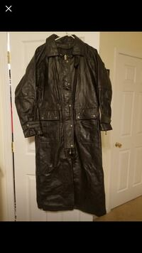 Real leather full duster Knoxville