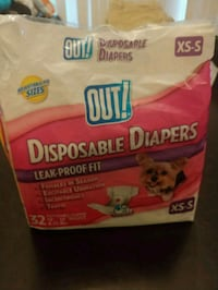 Doggie diapers xs-s Fort Campbell