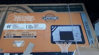 "Brand New Lifetime 44"" Basketball Backboard and Rim Combo Toronto"