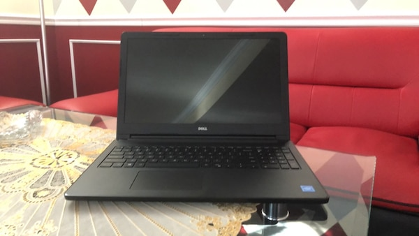 black and gray Acer laptop dell