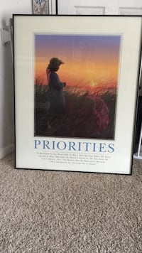 Priorities Art Print - Inspirational Germantown, 20876