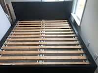 Ikea king  wooden bed frame Ashburn, 20148